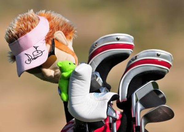 Golf club covers usually serve two purposes, to protect or project the golfer's image...or both.