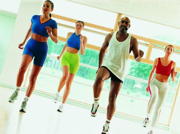 Low Impact Workout Step Aerobics