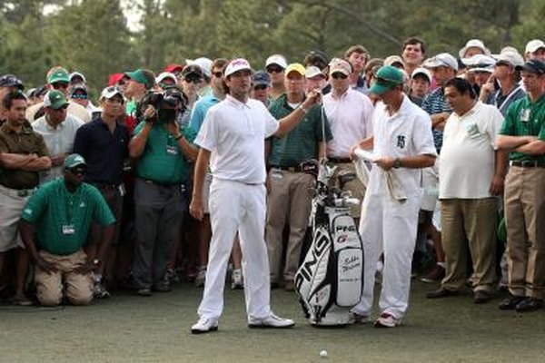 Bubba Watson's golf bag included two woods, seven irons, four wedges and a putter when he won the 2012 Masters.