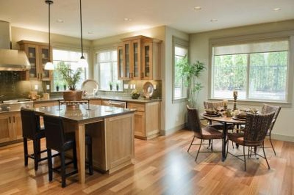The proper distance from a kitchen island to the top of a pendant light home guides sf gate