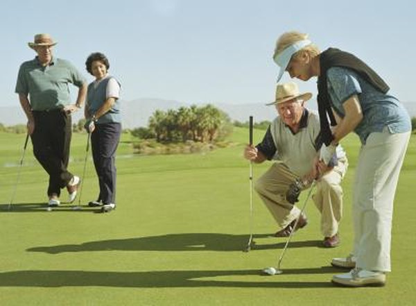 A senior can learn to adjust the swing to match a changing body.