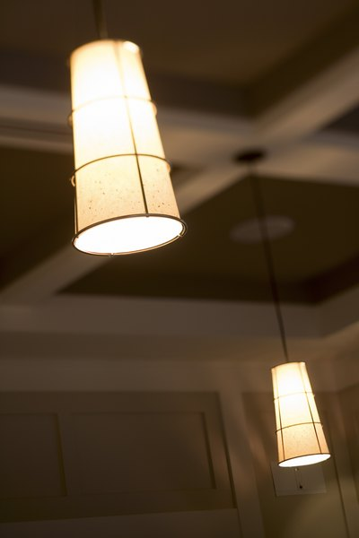 Ceiling height affects your choice of fixtures
