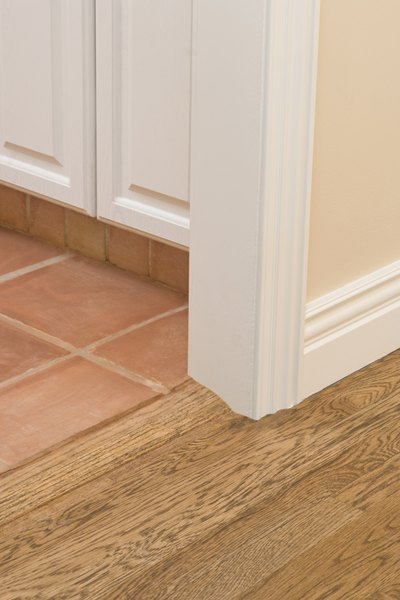 Should Baseboards Be Removed When Replacing Porcelain Tile
