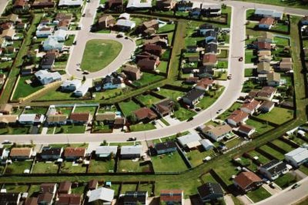 Plans for homeowners associations are often formed when a subdivision is planned