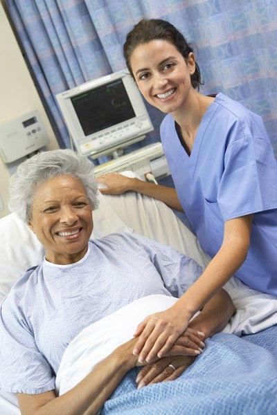 CCU Nurse Vs. Telemetry Nurse - Woman
