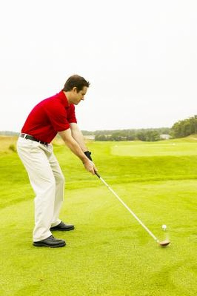 A slower, more deliberate golf swing may improve distance and control your game.