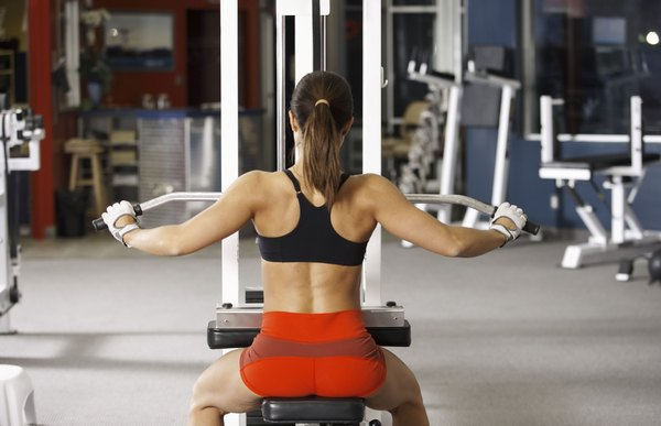 Lat Pulldowns Help Tame Flabby Arms And Strengthen Your Upper Body