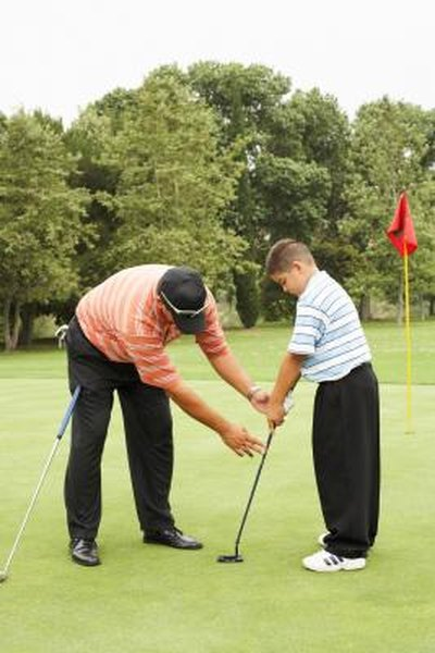 Learn the correct golf swing by taking group or private lessons.
