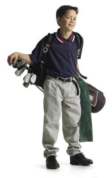 Some states permit caddies to work at a young age.
