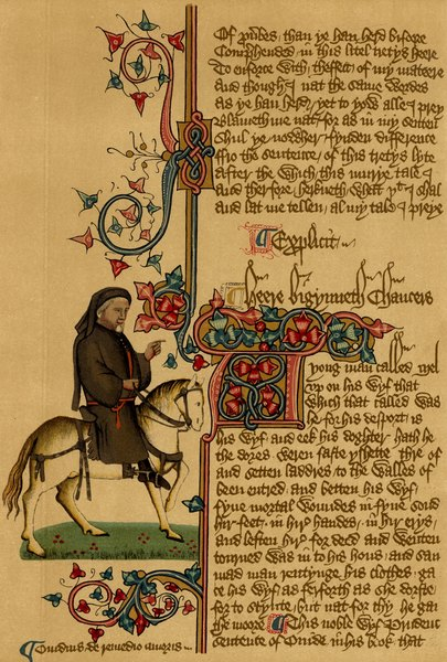 an analysis of the character chanticleer in the book canterbury tales by geoffrey chaucer The canterbury tales  and other poems  of  geoffrey chaucer   with all the works of chaucer, outside the canterbury tales, it   bestowed on the book, and .