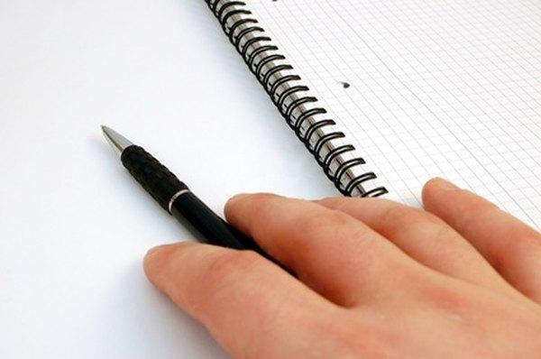 End an essay