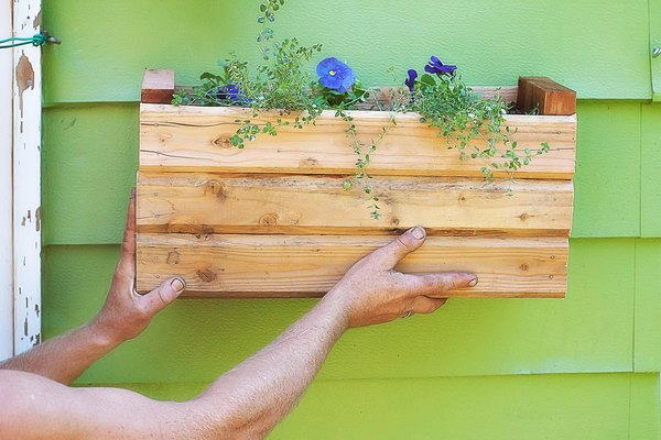How To Attach Flower Boxes Without Drilling Holes Home