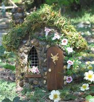 How to Build a Fairy House From an Old Doll House
