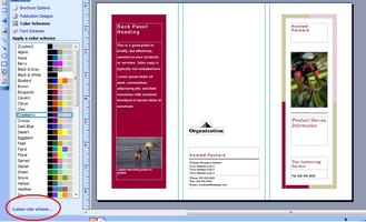 Microsoft office publisher tutorials ehow for Microsoft office brochure templates