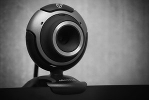 An inexpensive consumer-grade webcam can be used for home security.