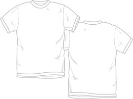 How to make your own iron on t shirt templates ehow for Free t shirt transfer templates