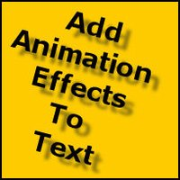 How to Add Animation Effects to Text in Microsoft Word 2003