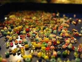 Beads come in many colors.