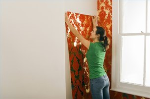 how to apply water to prepasted wallpaper ehow