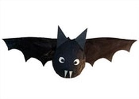 Make a Papier-Mâché Bat