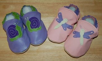 make soft-sole leather baby shoes