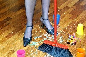 Clean Up After a Home Party
