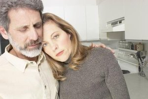 Just being there for your spouse can be a big help in times of grief.