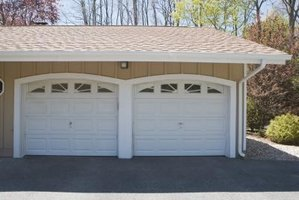 Measure to determine the rough opening for your garage door.