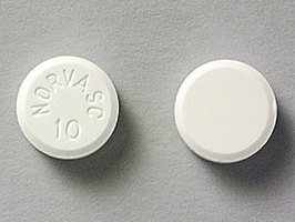 10mg Pill of Norvasc