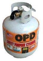how to turn on propane tank