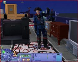 Become a Space Pirate in The Sims 2