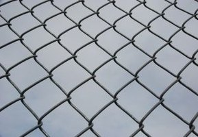 Give old chain link a new look with paint.