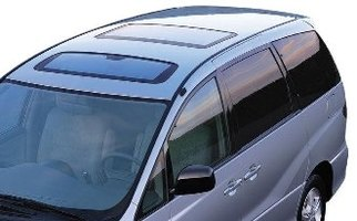 Moon roof on a Toyota Previa