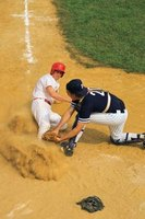 Sliding into home plate can cause dirt stains on your white sports pants.