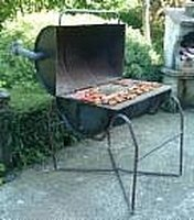 Make An Old Fashioned Barrel BBQ Pit Last Longer. Barbecue Pits