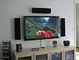 How to Hang a Flat Panel TV on a Wall eHow