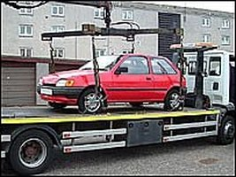 What are some tips for finding impounded vehicles?