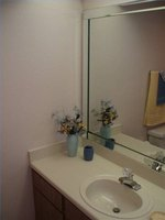 how to install a bathroom vanity cabinet ehow