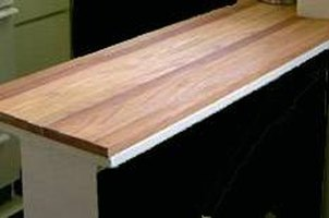 Inexpensively Replace Plywood Kitchen Countertops