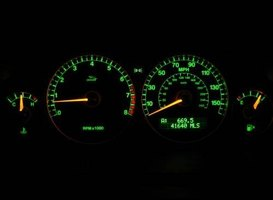 Complete the instrument cluster on your vehicle by installing an autometer volt gauge.