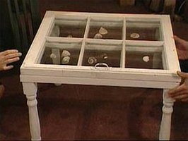 Build Shadow Box Coffee Table