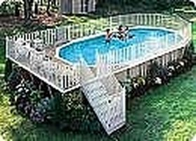 How to keep an above ground pool clean ehow for How to maintain an above ground swimming pool