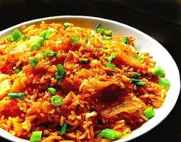 how to make kinchi fried rice