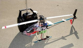Adjust the gyro gain setting on your RC helicopter to stabilize its flight.