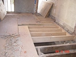how to build a basement sub floor ehow