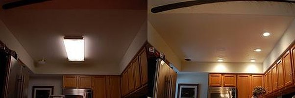 How To Replace Fluorescent Lighting In A Kitchen Ehow