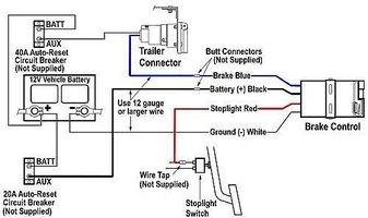 Reese Trailer Brake Controller Wiring Diagram: Redarc Electric Brake Controller Wiring Diagram   Nodasystech  Com,