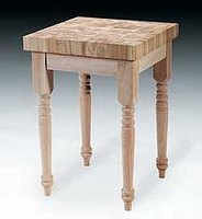 how to make a butcher block table ehow
