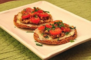 Sprouted Buckwheat Pizza Crust