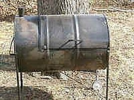 Build a 55 gallon drum grill